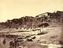 Trilochan and Tilianala Ghats [Benares].
